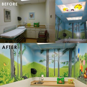 Picture of Recovery Room - Before and After the makeover